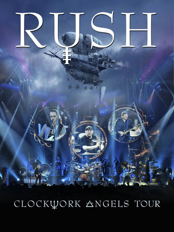 click to order Clockwork Angels Tour bluray