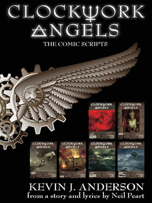 click to order Clockwork Angels Comic Scripts