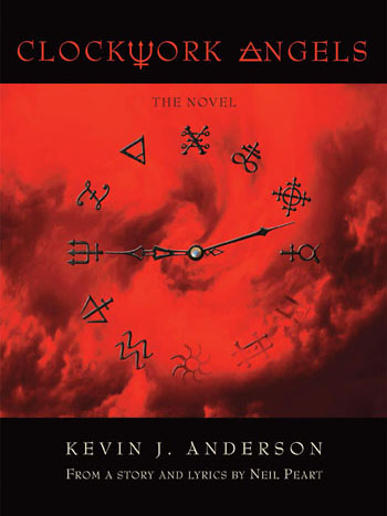 click to order Clockwork Angels Novel