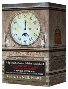 click to order Clockwork Angels Watchmaker Edition Audiobook