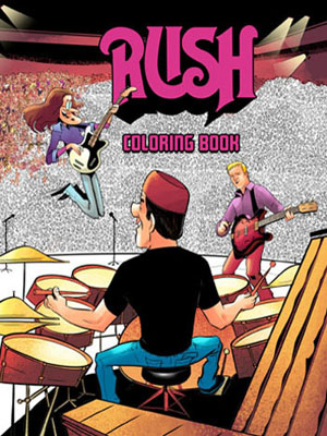 click to order the Rush Coloring Book