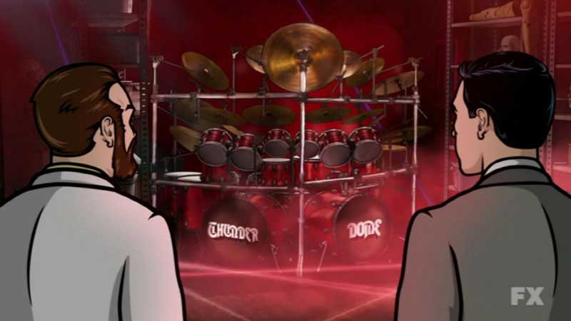 Power Windowsa Tribute To Rush Rush Reference On Fxs Archer