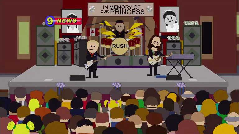 Power Windows..A Tribute To RUSH: Rush On Southpark