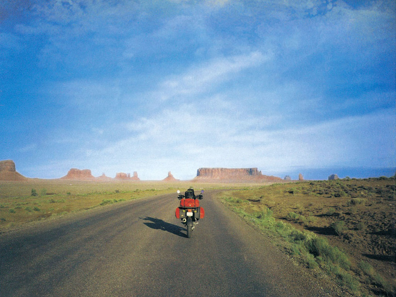 traveling scenic roads open highways