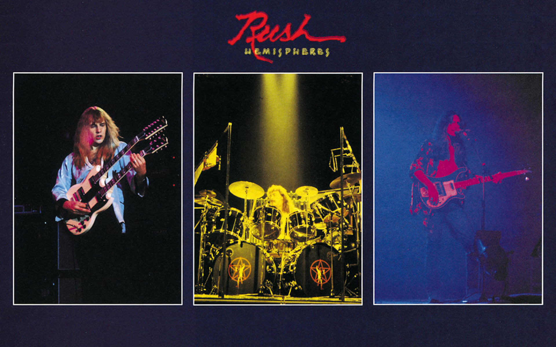 Hemispheres linernotes and more from power windows a - Rush album art ...